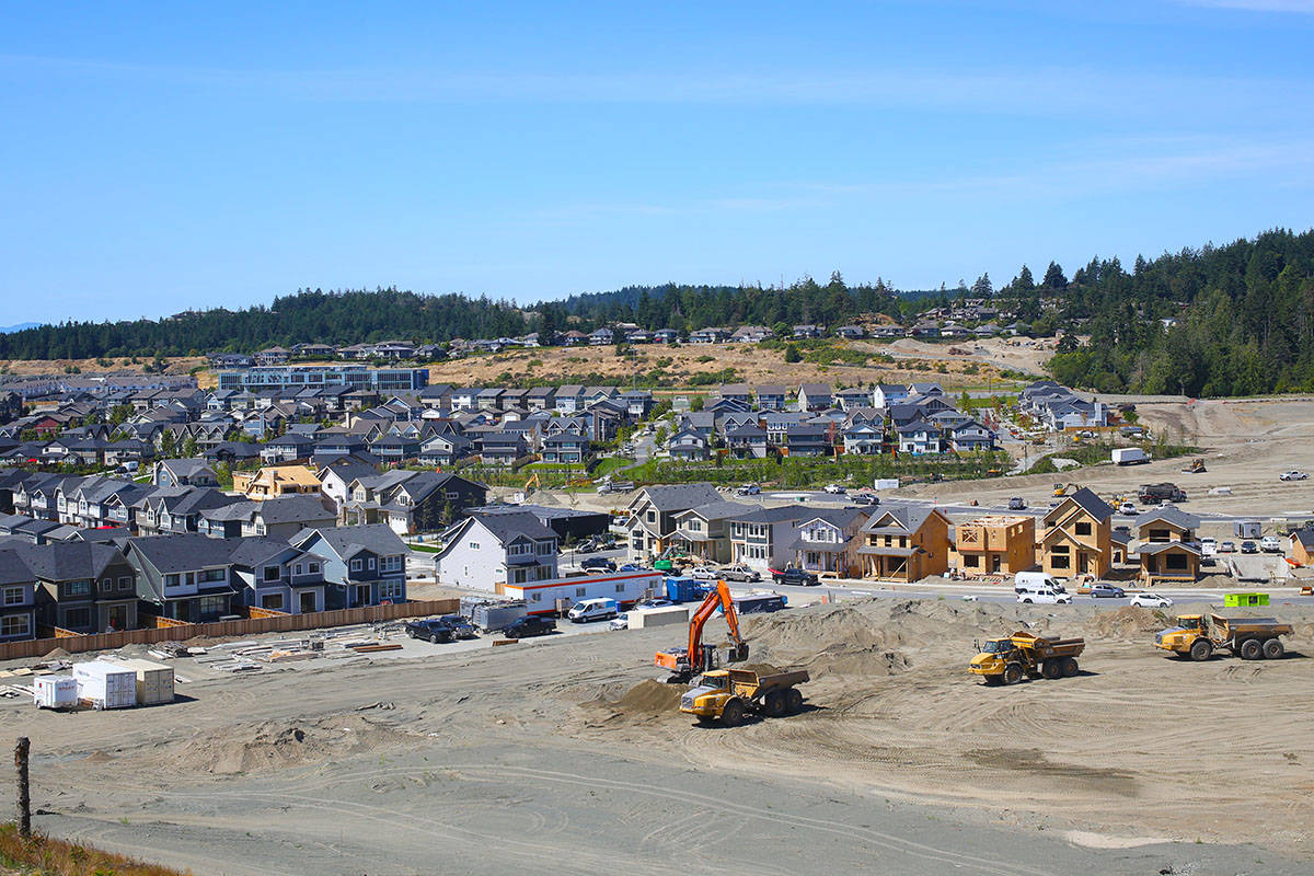 The Latoria South section of the Royal Bay development in Colwood could include a new long-term care facility. (Black Press Media file photo)